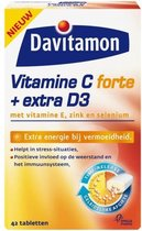Davitamon Vitamine C + Extra D3 - 42 Tabletten - Voedingssupplement