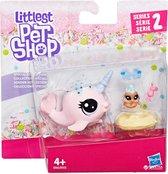 Speelset Hasbro Littlest Pet Shop - Ambrosia Narwhalz & Cannoli Crabbley