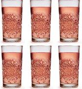 Libbey Hobstar Longdrinkglas – 355 ml / 35,5 cl - 6 stuks - vintage design - vaatwasserbestendig - hoge kwaliteit