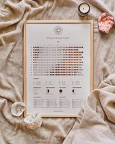 Maankalender 2021 Naturel - Poster A3 formaat