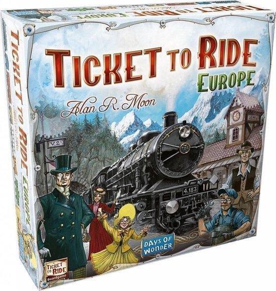 Afbeelding van Ticket to Ride Europe - Bordspel speelgoed