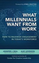 What Millennials Want from Work