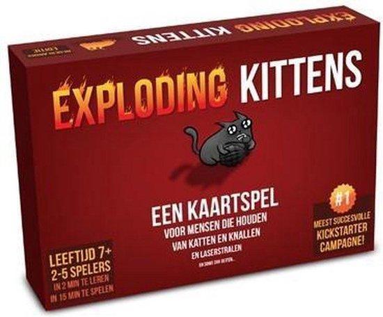 Afbeelding van Exploding Kittens Originele Editie - Nederlandstalig Kaartspel speelgoed