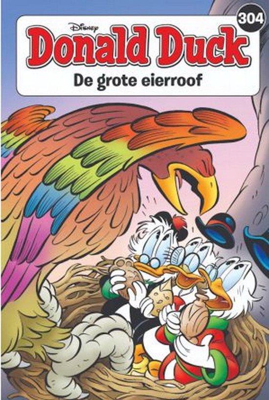 Afbeelding van 304 Donald Duck themapocket - dd0304 - de grote eierroof - pocket