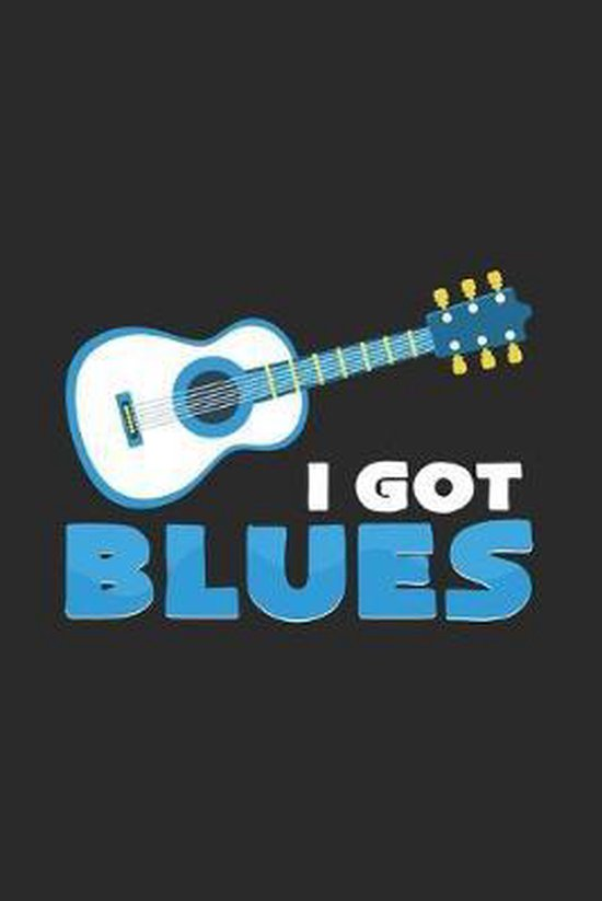 I got blues: 6x9 Blues - grid - squared paper - notebook - notes