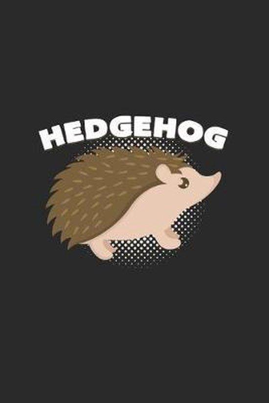 Hedgehog: 6x9 Hedgehogs - dotgrid - dot grid paper - notebook - notes