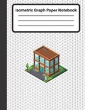 Isometric Graph Paper Notebook: Equilateral triangles 0.28'', Isometric graph paper, 100 Numbered Pages (Large, 8.5 x 11)