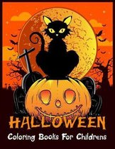 Halloween Coloring Books For Childrens