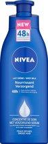 NIVEA Bodymilk 48h Intensieve Hydratatie With Moisturizing Serum - Voedend Voor Droge Huid - Met Pomp - 400 ml