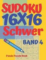 Sudoku 16x16 Schwer - Band 4