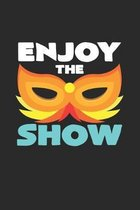 Enjoy the show: 6x9 Carnival - dotgrid - dot grid paper - notebook - notes