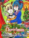 Christmas Coloring Books For Boys