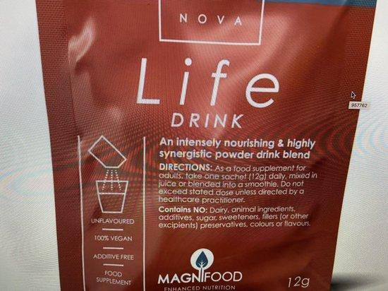 Life drink sachets 12 gram
