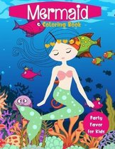 Mermaid Coloring Book Party Favor for Kids