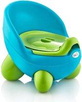 BabyJem TonTon - Plaspotje - Kinderpotje - Peuter Potje - Zindelijkheid - Blauw Groen
