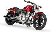 Harley Davidson Breakout 2016 (Rood) 1/18 Maisto - Modelmotor - Schaal model - Model motor - harley davidson schaalmodel