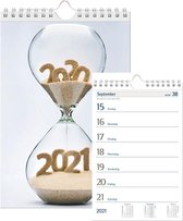 Castelli weekkalender 2021 - ringband - klein formaat