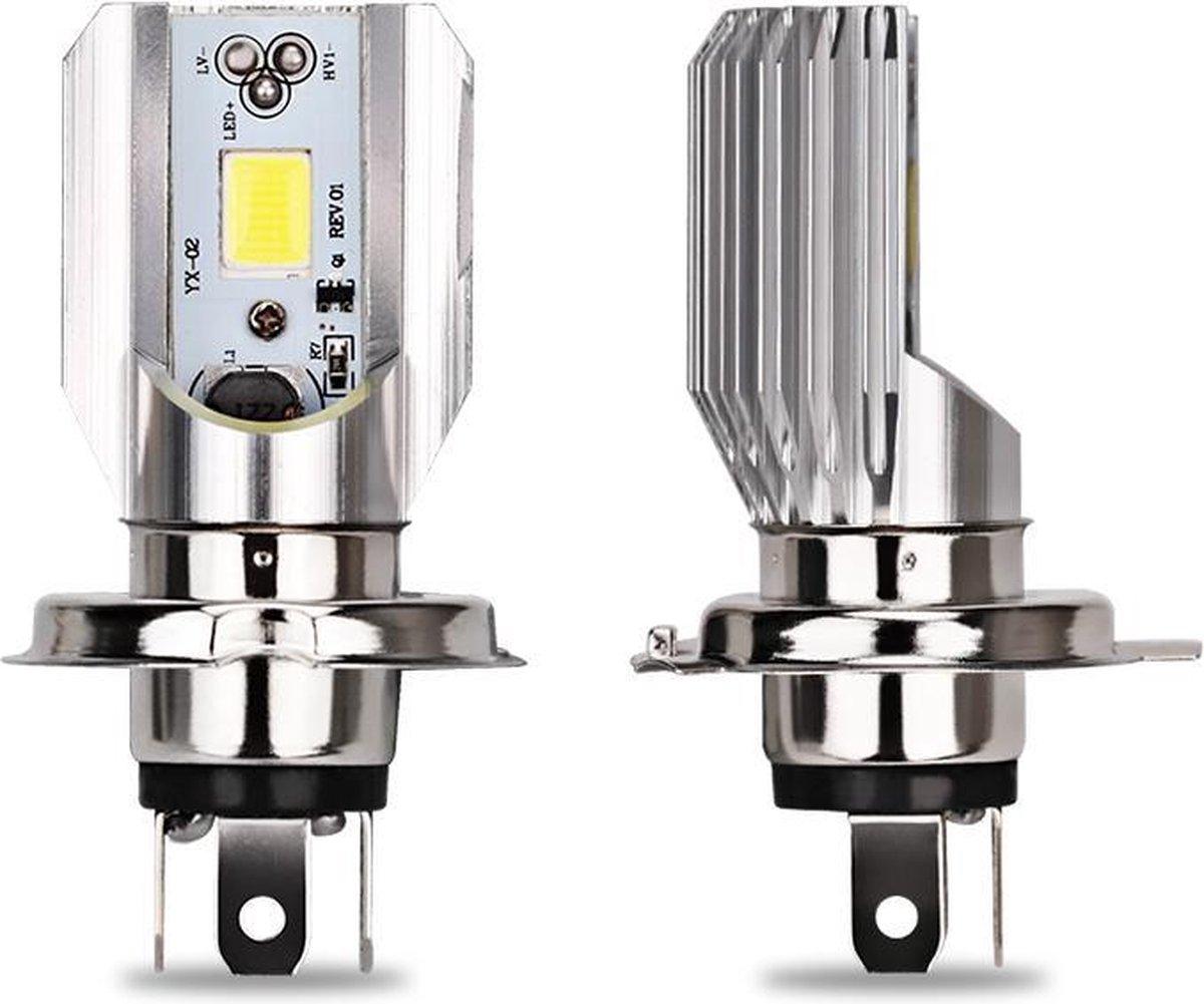 BikeMotion H4 LED Lamp - LED Verlichting - Koplamp/Mistlamp - HS1 - 12V - Universeel