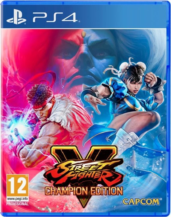 street fighter v champion edition ps4 gameplay