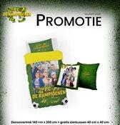 FC de Kampioenen promotie, donsovertrek 200/140 met gratis sierkussen !
