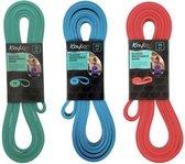 Kaytan Sports - Resistance bandenset 15-25-35 kg - Fitness elastieken - Sport banden - Elastische Weerstandsband - Workout - Fitness - Krachttraining - Sport elastiek