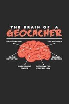 The brain of a geocacher: 6x9 Geocaching - dotgrid - dot grid paper - notebook - notes