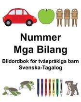 Svenska-Tagalog Nummer/Mga Bilang Bildordbok foer tvasprakiga barn