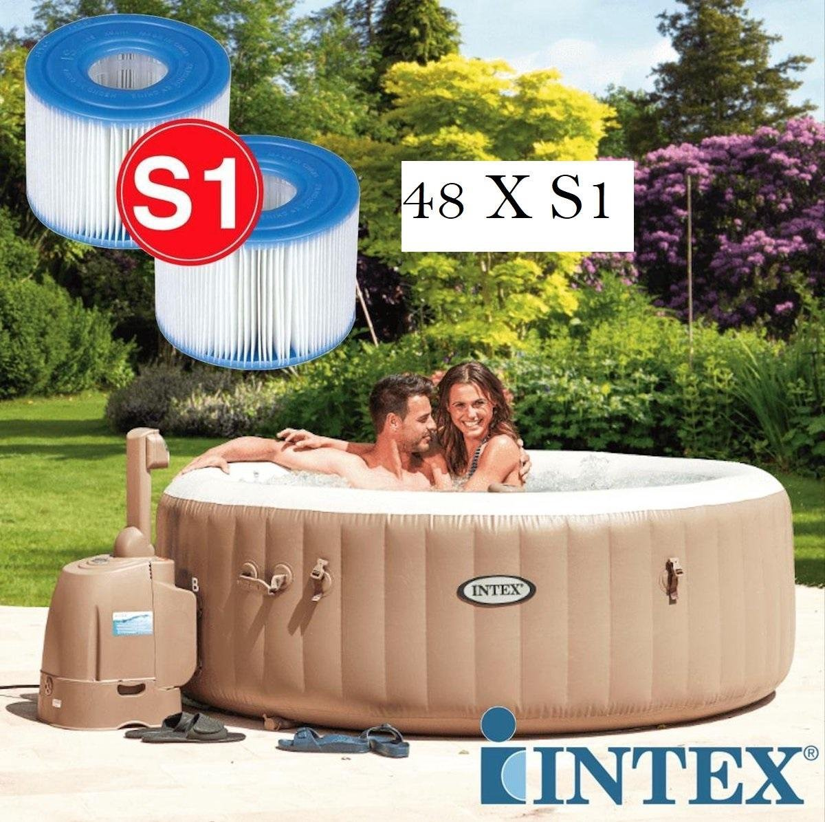 48 Intex S-1 Pure Spa Filter opblaas bubbelbad jacuzzi