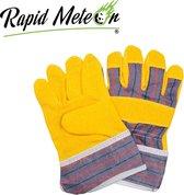 Kinder werkhandschoenen / Tuinhandschoenen - Kinderen Tuingereedschap - Geel - Rapidmeteor®