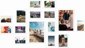 Magnetische fotolijst - Fotomuur - Wit - 15 stuks