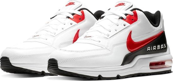 Nike Air Max LTD 3 Heren Sneakers - White/Univ Red-Black - Maat 45