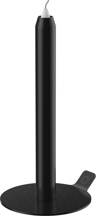 LUNEdot unieke kaarsenstandaard inclusief 3 kaarsen – kaarsenhouder – slimme kandelaar - zwart