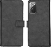 iMoshion Luxe Booktype Samsung Galaxy Note 20 hoesje - Zwart