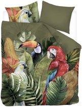Snoozing Macaw - Dekbedovertrek - Lits-jumeaux - 260x200/220 cm - Multi kleur