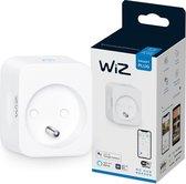 WiZ Slimme Stekker - Eenvoudige Bediening via de App - Stekkertype F - Wi-Fi