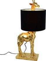 Tafellamp Giraf Lucie - Goud | Zwart