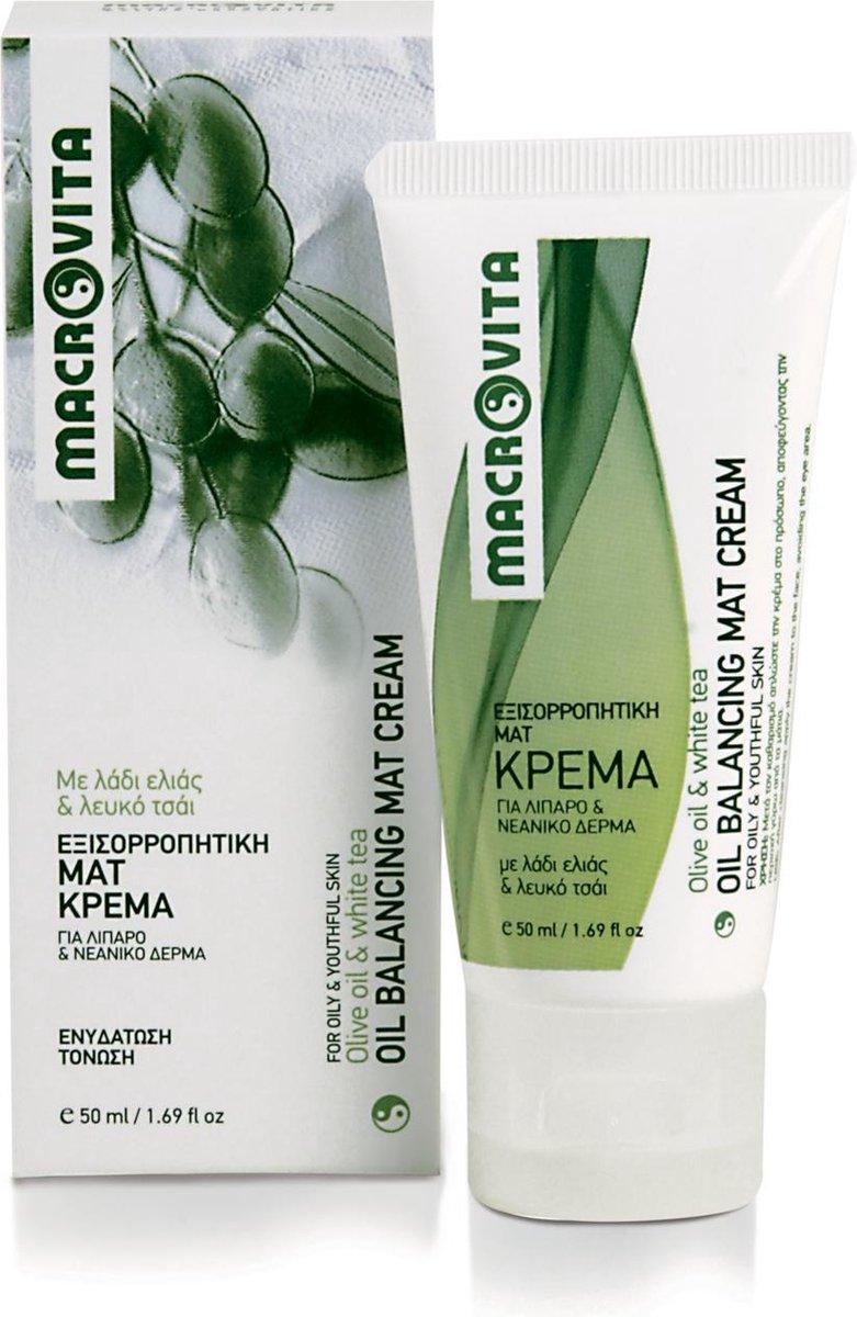Macrovita Oil Balancing Mat Cream - Macrovita