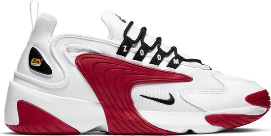 Nike Zoom 2K Heren Sneakers - White/Black-Gym Red-White - Maat 47.5
