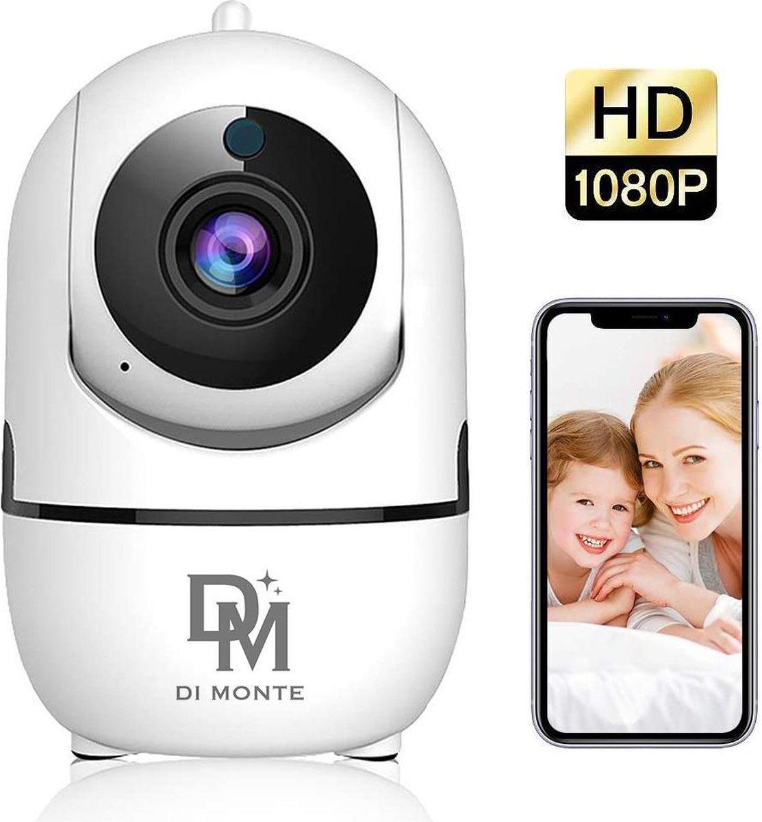 Bewakingscamera - Beveiligingscamera - Babyfoon - Babyfoon Met Camera - App - Set -  Motion en Gelui