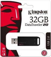 Kingston Technology DataTraveler 20 USB flash drive 32 GB USB Type-A 2.0 Zwart