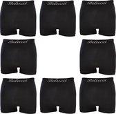 Belucci Heren Boxershorts - 8-pack - Zwart Maat XL/XXL