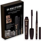 Make-up Geschenkset - Mascara 4D False Lash zwart + eyeliner Zwart