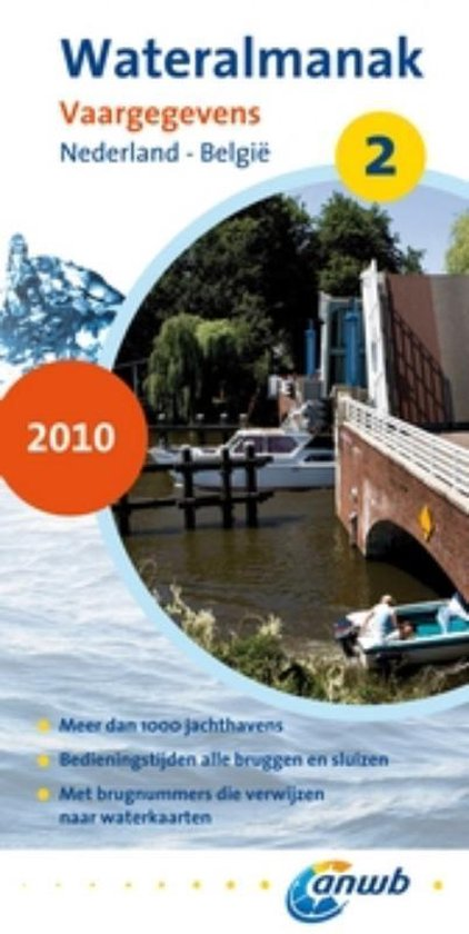 Cover van het boek 'ANWB Wateralmanak 2, 2010'