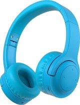 Lovnix E3 - Draadloze Bluetooth Kinderkoptelefoon met Volume Begrenzing 93dB - Begrensde koptelefoon voor Kinderen - Blauw