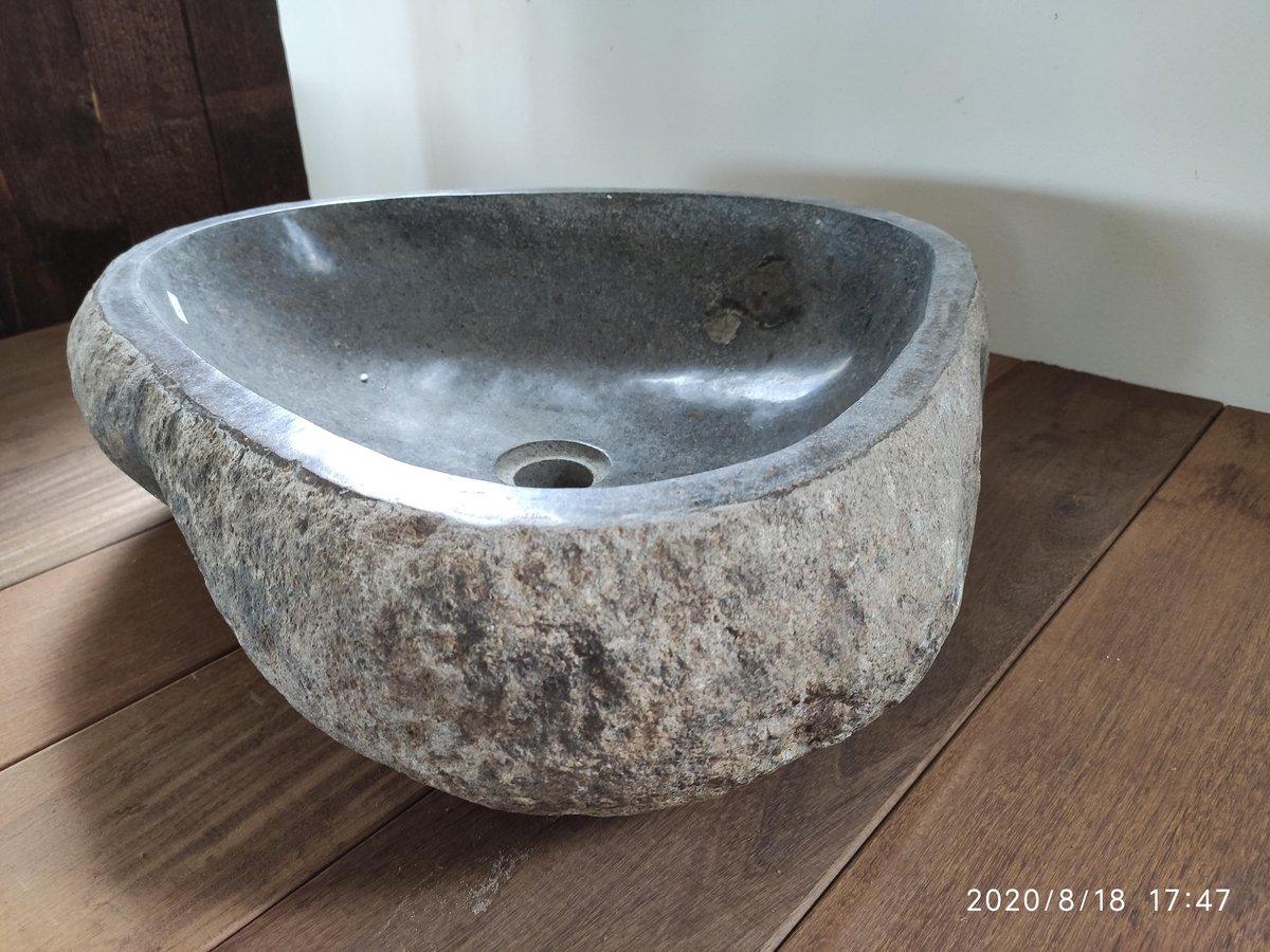 Bali riverstone waskom 53x45x15