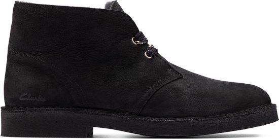 Clarks Heren Desert Boot 2 - Black Sde - Maat 45