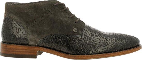 Rehab Heren Nette schoenen Salvador Weave - Grijs - Maat 42