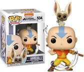 Funko Pop - Avatar: Aang with Momo