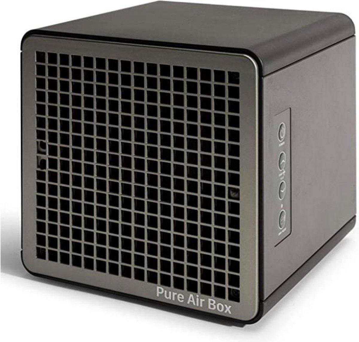 Pure Air Box Series – Luchtreiniger EN LuchtDesinfectie met Ionisator, Reinigt tot 99,9% Uw Omgeving – Compact – Ruimtes tot 140m2 – Woningen en Kantoren/Winkels
