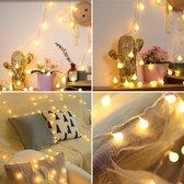 DirectSupply Partylights - Partyverlichting - 50 LED bollen - 10 meter